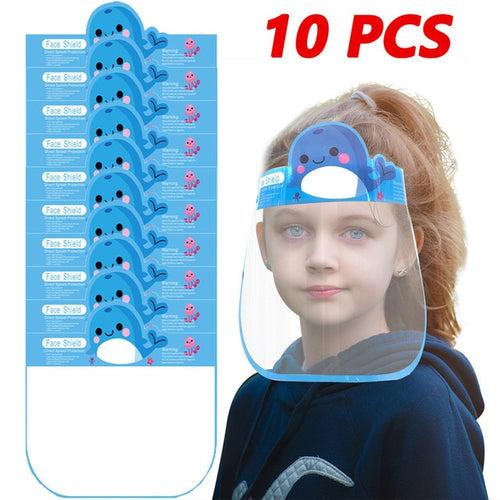 Fun Designed Kids Face Shield