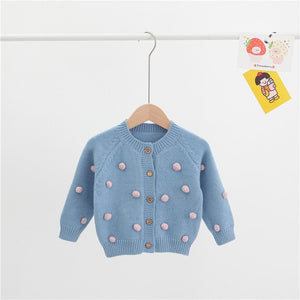 2020 Fashion Winter Autumn Baby Girls Knit Top Sweater
