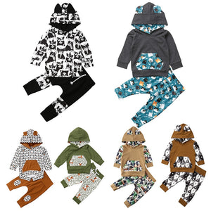 Autumn/ Winter Newborn Baby Boys Clothes Set