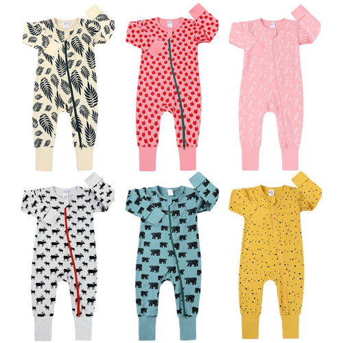 Baby Girl and Boy Romper Long Sleeve Sleepsuit