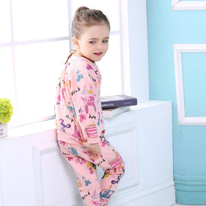 Winter Girls Clothes Graffiti Prints Sweatshirts+Casual Pants