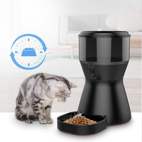 Automatic Dog Feeder Smart Feeder Food Dispenser Bowl with HD Camera&App for Smart Phone Wifi Remote View