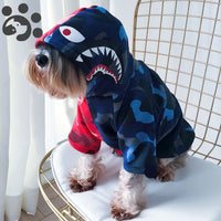 Shark Hoodie Sweater for Dogs