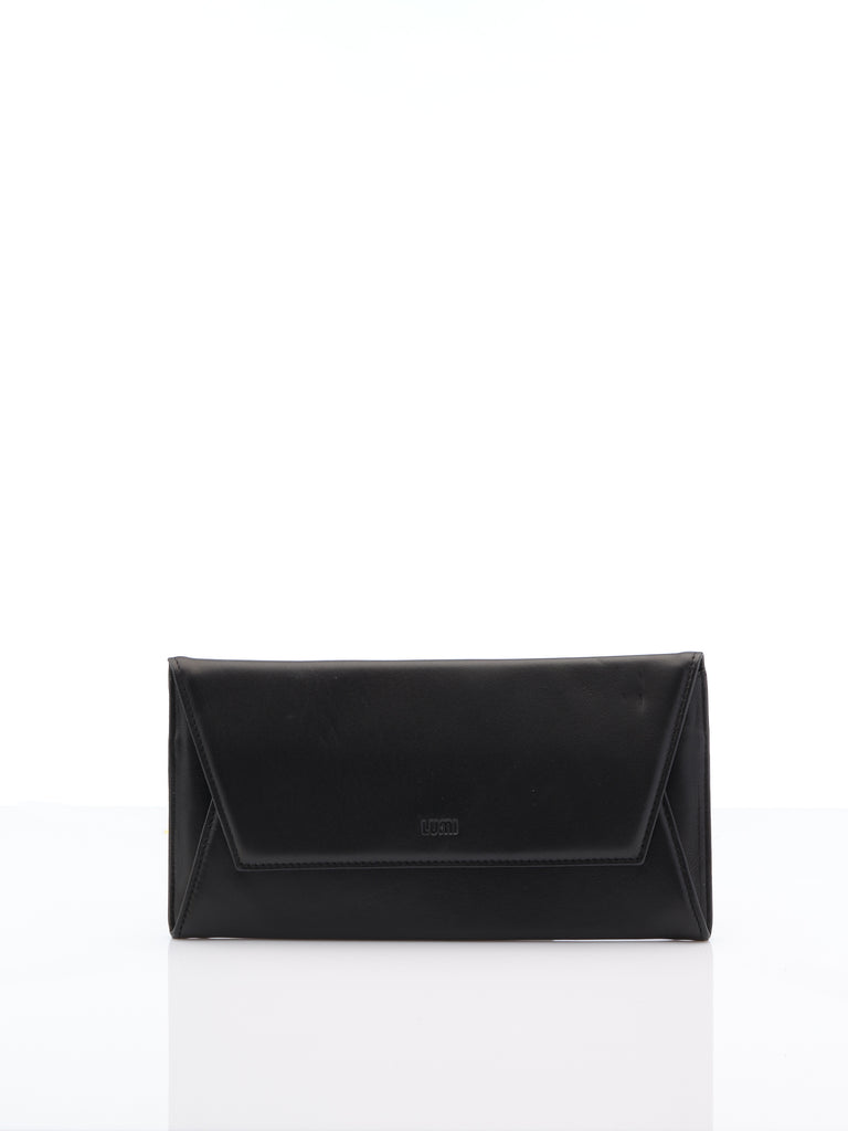 Talvikki Black Envelope Wallet