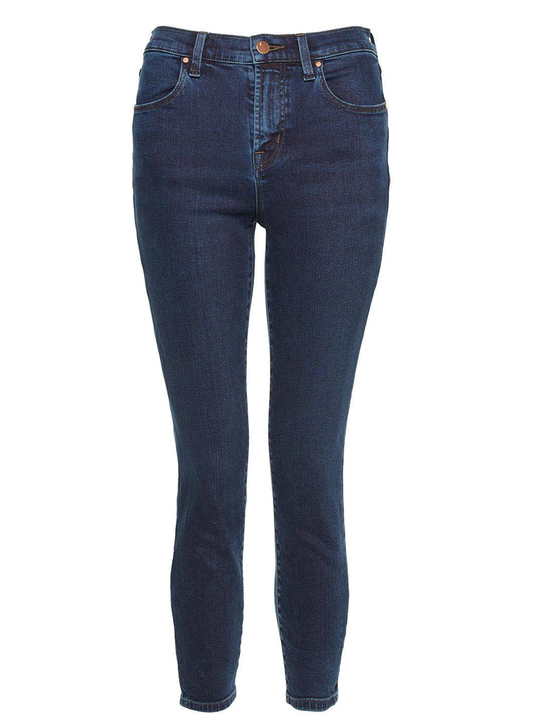 Alana High Rise Crop Skinny Jeans in Dash by J Brand