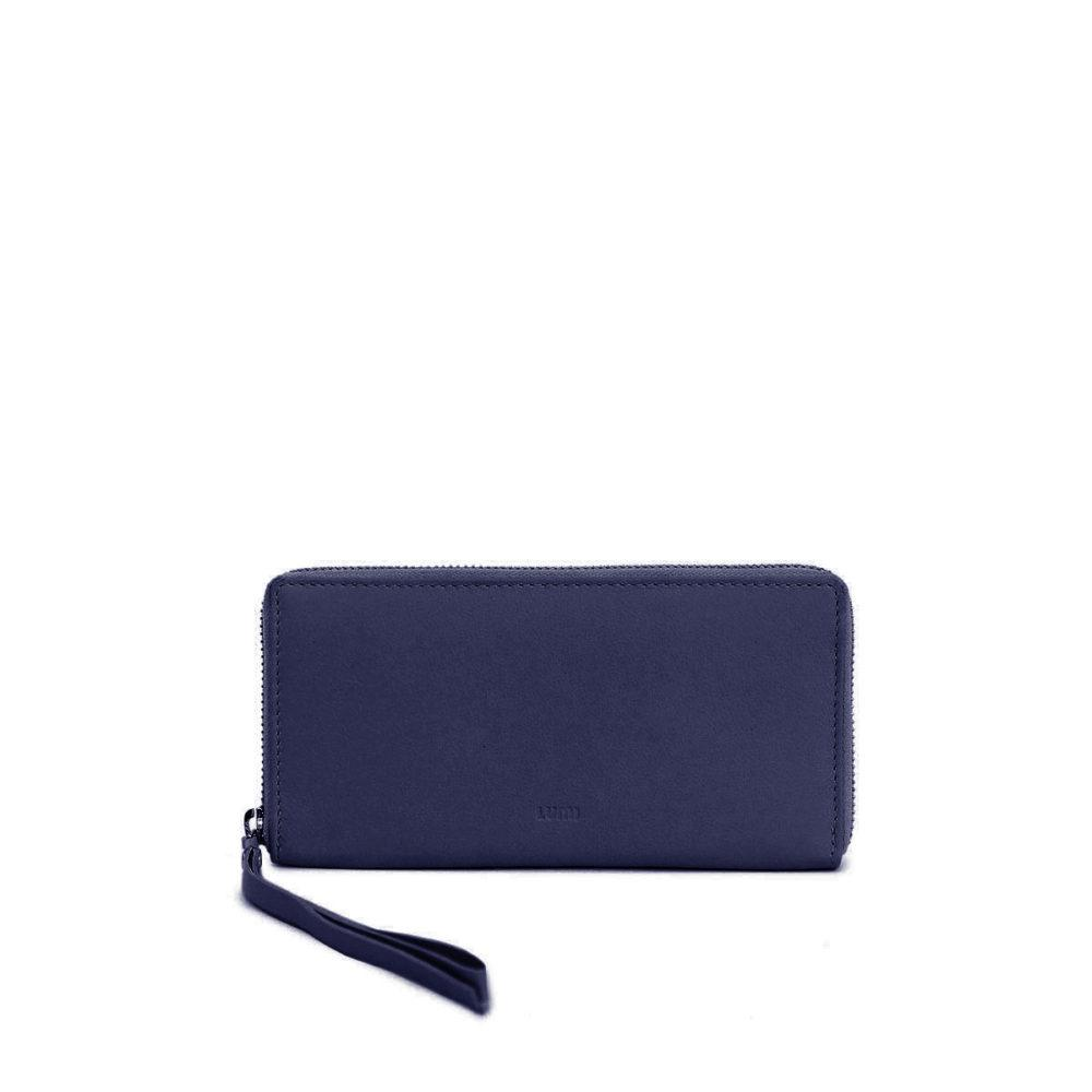 Large Ziparound Wallet in Blueberry by Lumi