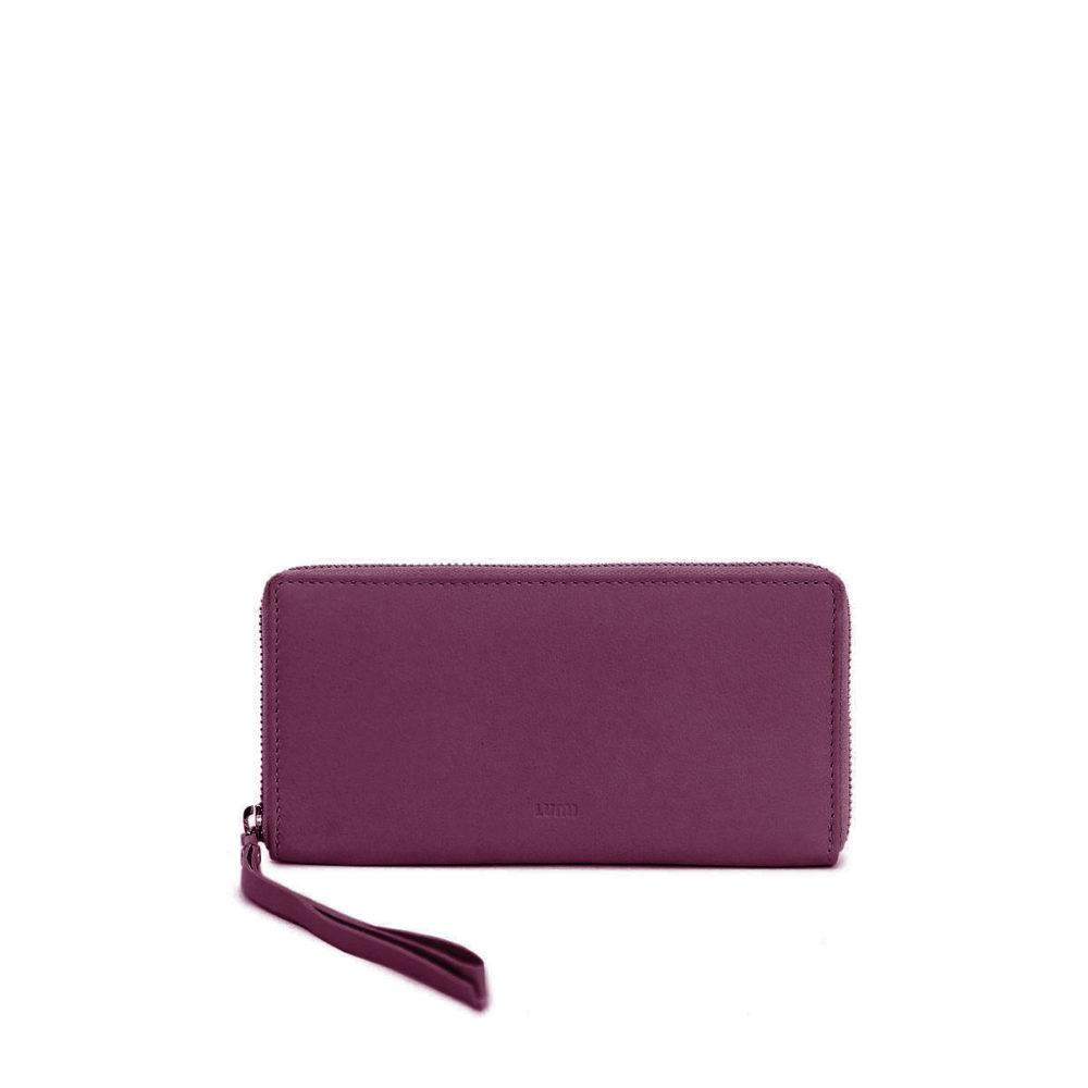 Large Ziparound Wallet in Violet by Lumi
