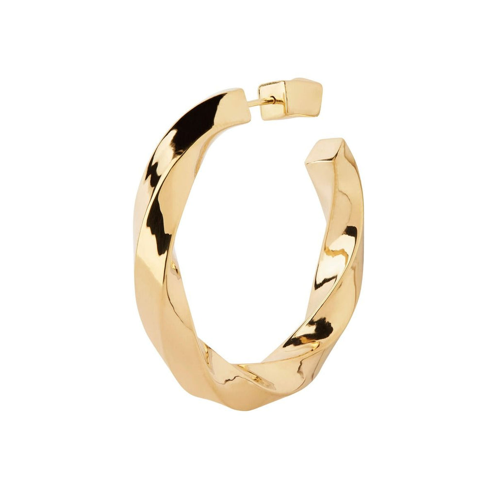 Martinus Hoop Earring in Gold by Maria Black