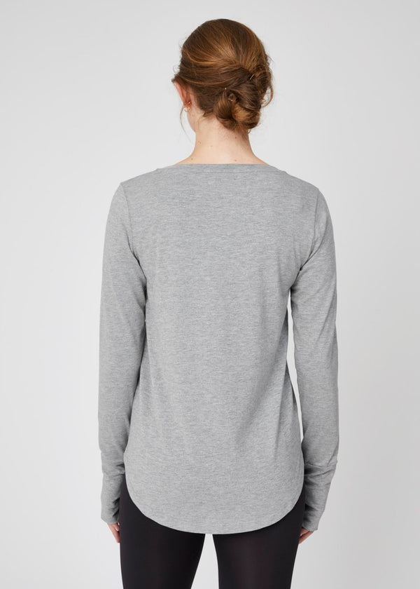 Colette Long Sleeve Tee Grey