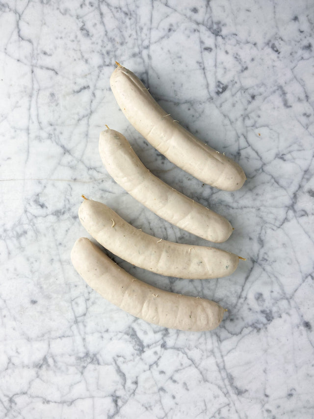 Boudin Blanc with Fine Herbs