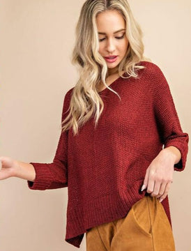 Cozy Crew Knit Sweater