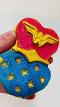 Load and play video in Gallery viewer, A Fizzy Superhero Bath Bomb