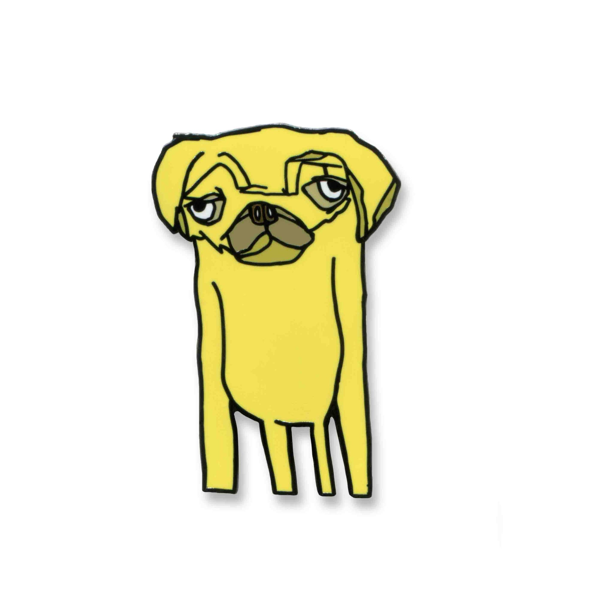 Yellow Dog Pin