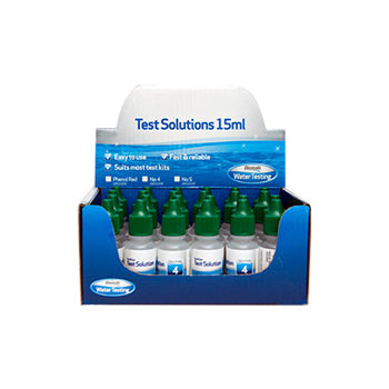 No.4 Solution water test from Aquanort Pools In Blenheim, NZ