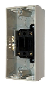 63AMP - Weatherproof Isolator - 2 Pole / Two Phase