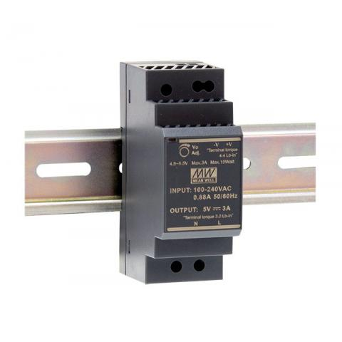 Meanwell - Din Rail Transformer - 5Volt DC - HDR-30-5