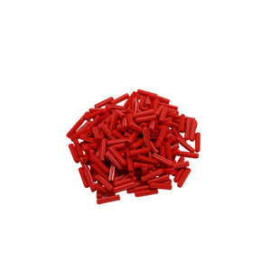 Red - 6 x 25mm Wall Plugs - 200 Pack