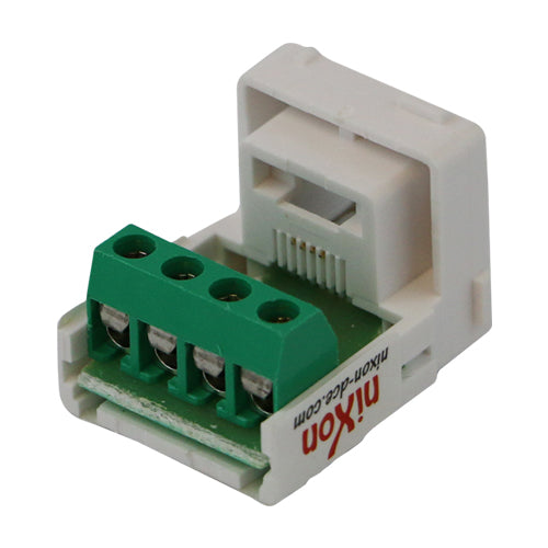 RJ11 - Cat 3 Phone Jack Screw Terminals Style