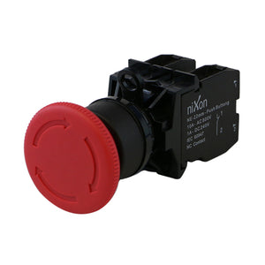 EMG Mushroom Red Push Button - 22mm