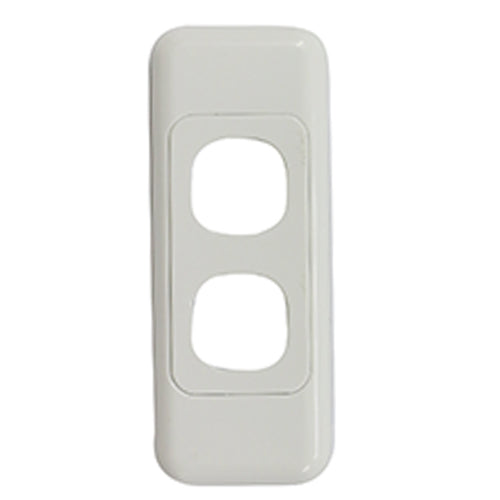 2 Gang Architrave - Wall Plate