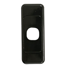 Load image into Gallery viewer, 1 Gang Architrave - Wall Plate - Black