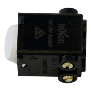 HWS - White Switch Mechanism 250V 35AMP Double Pole