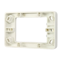Load image into Gallery viewer, 16mm Shallow Mounting Block - White