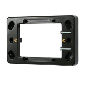16mm Shallow Mounting Block - Black