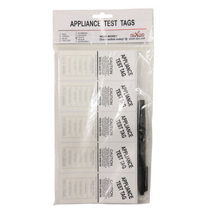 White Test Tags - 100 Pack