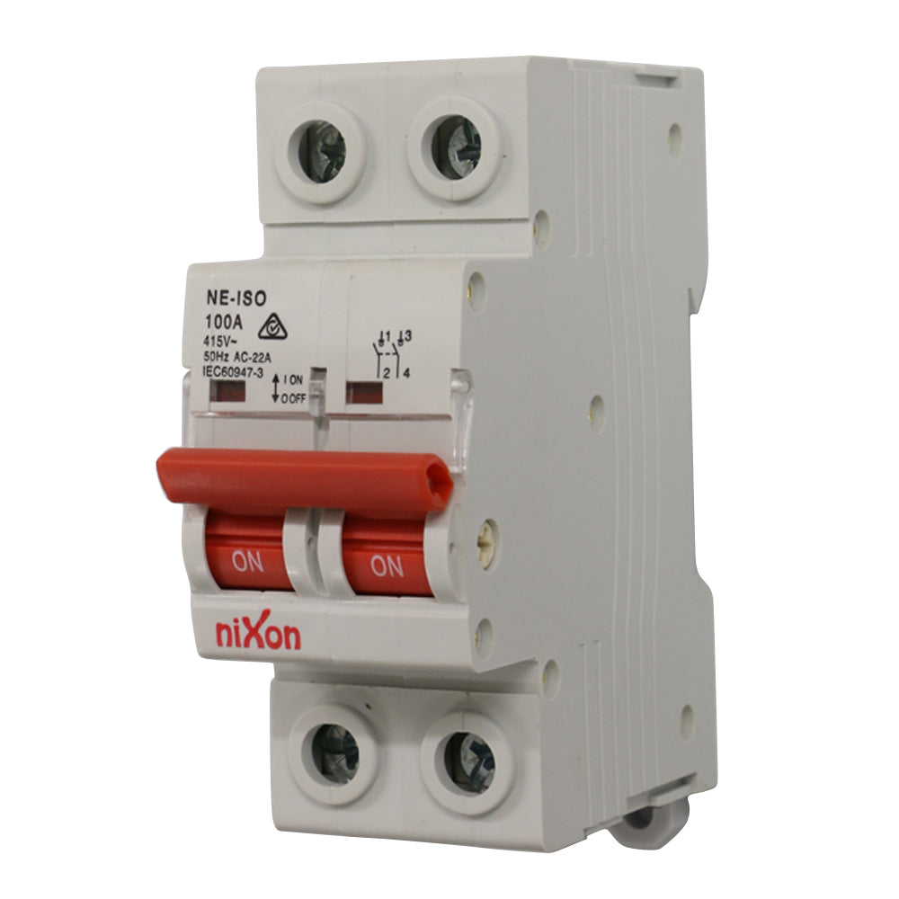 100AMP - 2 Pole Isolator
