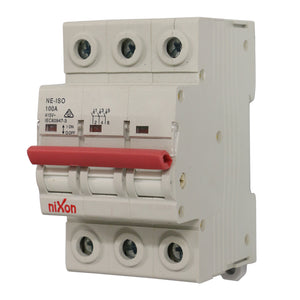 100AMP - 3 Pole Isolator