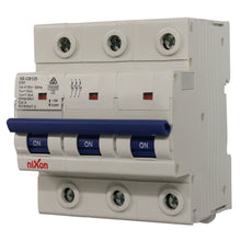 Load image into Gallery viewer, 80AMP - 3 Pole 10ka MCB - Circuit Breaker (27mm Width)