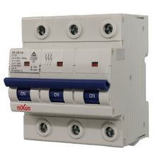 Load image into Gallery viewer, 125AMP - 3 Pole 10ka MCB - Circuit Breaker (27mm Width)