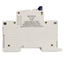 Load image into Gallery viewer, 100AMP - 3 Pole 10ka MCB - Circuit Breaker (27mm Width)