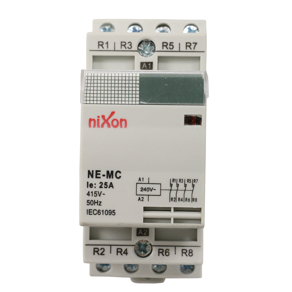 25A 4Pole - Normally Closed - Din Rail Contactor