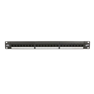 24 Port Patch Panel - RJ45 Cat 6