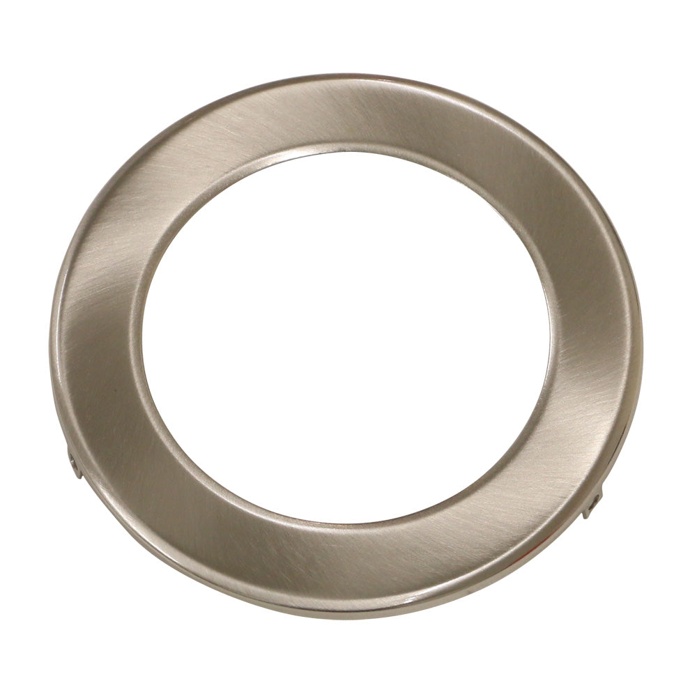 Brushed Chrome Ring for LED Downlight for 90mm