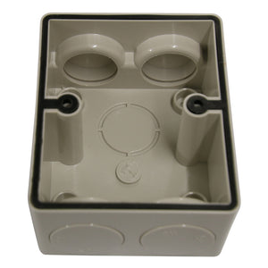 10AMP - Mini Single Weatherproof Outlet - IP53