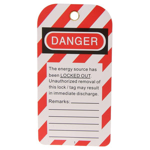 10 x Lock Out Tags / Danger Tags