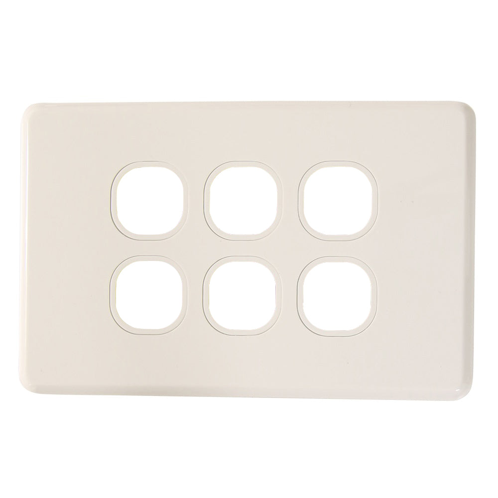 Classic 6 Gang - Wall Plate