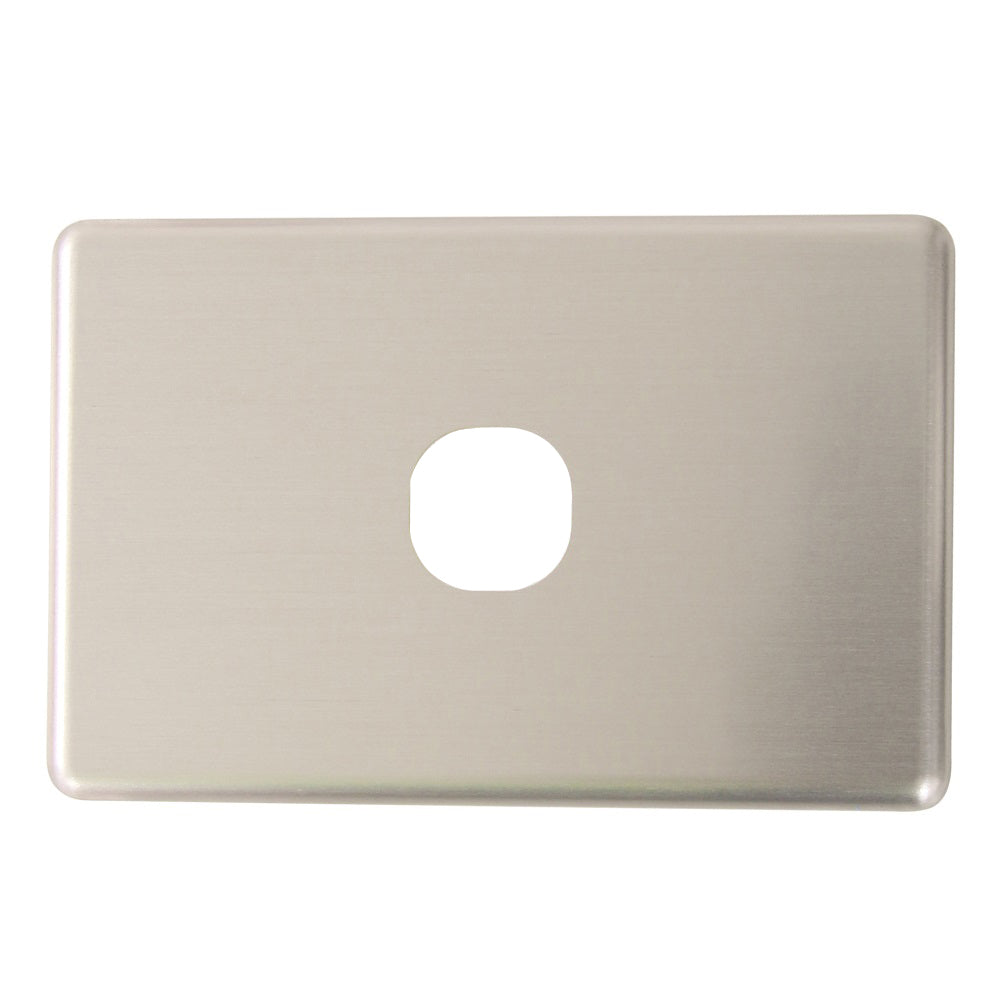 Classic 1 Gang - Brushed Aluminum Cover Plate