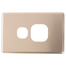 Load image into Gallery viewer, Classic Single Powerpoint - Brushed Aluminum Cover Plate