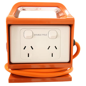 10AMP RCD PowerBox - 4 Outlets