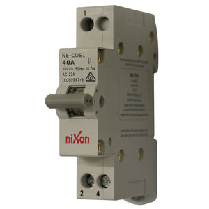 Change Over Switch - 1 Pole 40AMP