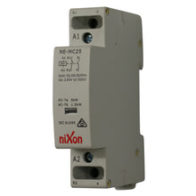 Load image into Gallery viewer, 24Volt 20A 2Pole - 1NC + 1NO - Din Rail Contactor