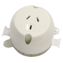 Load image into Gallery viewer, 10AMP - Single Plug Base - White