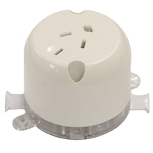 Load image into Gallery viewer, 10AMP - Single Plug Base 4 PIN - White
