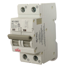 Load image into Gallery viewer, 50AMP - 2 Pole 10ka MCB - DC - Circuit Breaker