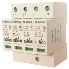 Load image into Gallery viewer, Surge Protector 4 Pole 20kA 385V
