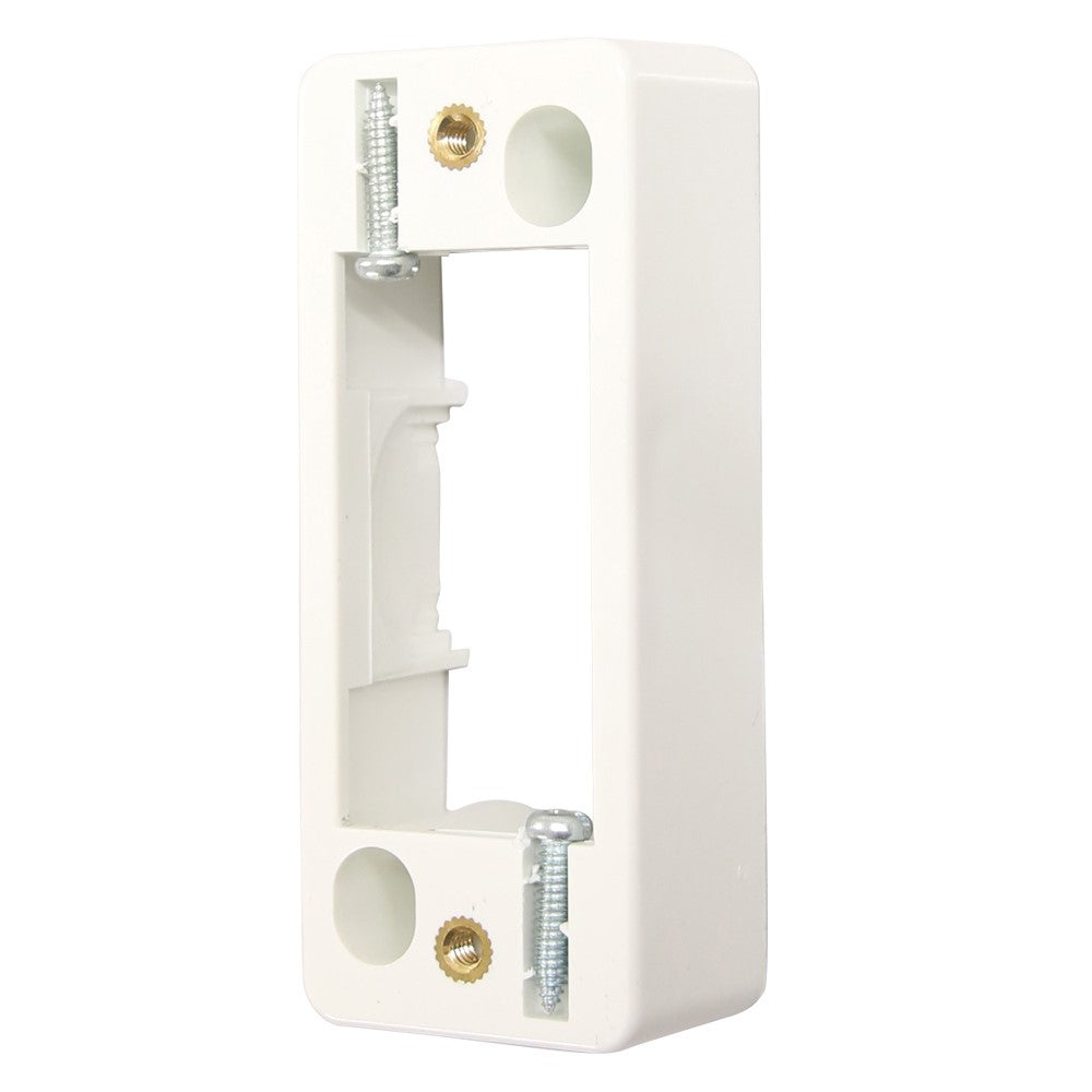 Architrave Mounting Block - White